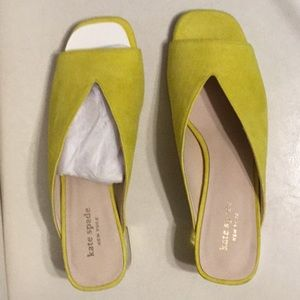 Kate Spade suede sandals, new